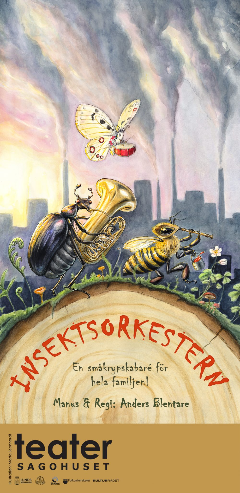 Insektsorkestern affisch